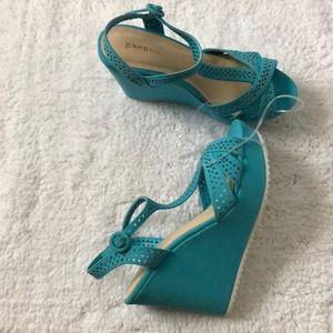 Bamboo Jessica Wedge Sandals